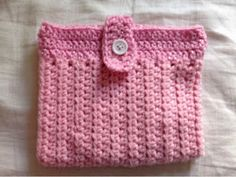 Tess and Annie: iPod and Earbud Case - Free Crochet Pattern
