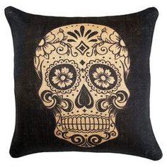 Dia de los Muertos Pillow