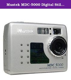 Mustek MDC-5000 Digital Still Camera. Enter the digital realm with the Mustek MDC5000 digital camera. The MDC5000 boasts a 5-megapixel resolution and acts as a digital still camera, digital camcorder, digital voice recorder, and a PC cam. A USB interface makes connecting to your computer a br.