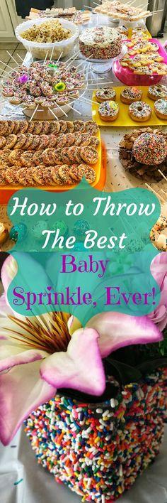 How to Throw a Baby Sprinkle | Invitation Wording | Menu Ideas