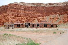 Old Abandoned Trading Post at Baby Rocks, Arizona by Dornoff Photography, via Flickr