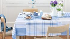 How to sew a tablecloth