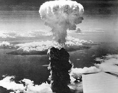 06 Aug 45: The B-29 Superfortress ENOLA GAY drops the first atomic bomb on Hiroshima, Japan, at 8:15 am local time. It will take hours for the Imperial Japanese Army General Staff to begin to piece together what has happened, let alone to comprehend the magnitude of the destruction caused by this single bomb.