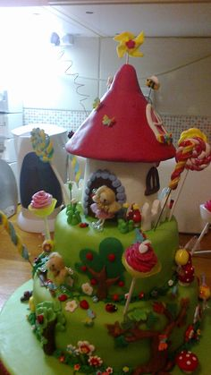 Bolo Jardim Encantado. Enchanted Garden, Cakes