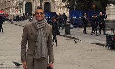 Randy Fenoli in #Milan. #wedding