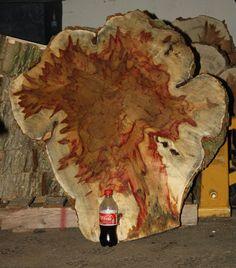 Flame Box Elder Wood Call Turning Blank Sold Flame Box