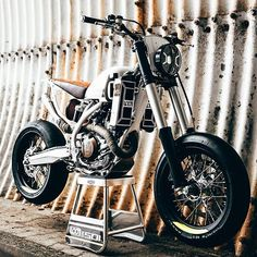 On BikeBound.com: Husqvarna FE 501 by @loonics. ⚡️Link in Profile⚡️ #husqvarna #fe501 #supermoto #tracker #scrambler