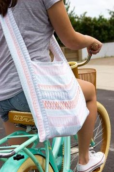 Tutorial: Boho sling bag – Sewing