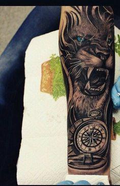 29 super Ideas for tattoo arm tiger awesome Tiger Face Tattoo, Lion Head Tattoos, Tiger Tattoo Design, Mens Lion Tattoo, Tribal Arm Tattoos, Forearm Sleeve Tattoos, Full Sleeve Tattoos, Arm Tattoos For Guys, Dog Tattoos