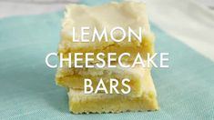 LEMON CHEESECAKE BARS - Butter with a Side of Bread Homemade Caramels, Homemade Snickers, Lemon Cheesecake Recipes, Jello Recipes, Peanut Butter Fudge, Crockpot Ham And Beans, Vanilla Jello, Tiger Butter