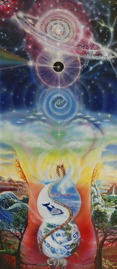 Chakra painting Universal Chakras  #chakra #energy