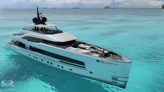 New 157ft YARA 48 concept from #OmegaArchitects for Italian shipyard #ISAYachts