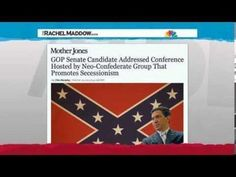 Rachel Maddow - Echoes of Confederacy seen in tea party   THE OTHER EYEWITTNESS - news   Scoop.it Mother Jones, Rachel Maddow, Pissed Off, What Goes On, Current Events, How To Know, New Books, Tea Party, Entertaining