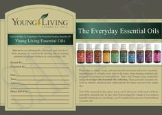 Young Living Party Invitation