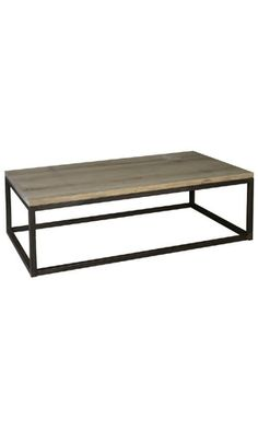 Table Basse Rectangle Industriel