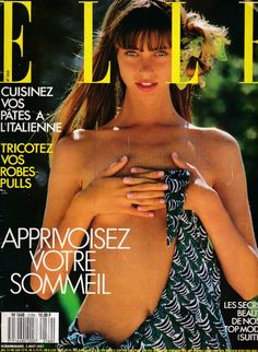 Elle France 3rd August 1987 : Roberta Chirko by Gilles Bensimon Hair: Yannick d'Is Makeup: Marie-Lafontaine