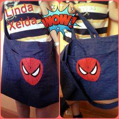 bolsa Spiderman en niño