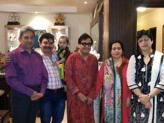 Shri Ajay Seth, Shri Shanker Bhutani, Shri Narendra Chanchal Ji, Shrimati Namrata Chanchal Ji, Shrimati Meena Seth
