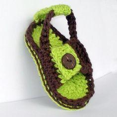 Вязанная обувь детские