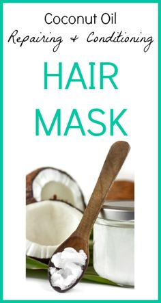 I love the way this makes my hair look and feel! Coconut Oil Hair Mask Recipe -  www.seedsofrealhealth.com