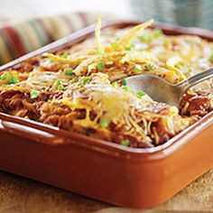 Chipotle Pumpkin Enchilada Casserole- looks interesting! I will have to try it!