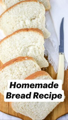 Sandwich Bread Recipes, Yeast Bread Recipes, Bread Machine Recipes, Best Homemade Bread Recipe, Homemade Buns, Homeade Bread, Low Carb Dinner Recipes, Cooking Recipes, Keto Recipes