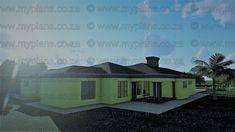 6 Bedroom House Plans - My Building Plans South Africa Split Level House Plans, Single Storey House Plans, Square House Plans, Tuscan House Plans, Metal House Plans, My Building, Building Plans, Home Design Plans, Plan Design