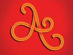Type Fight Letter A  by Chris Sandlin