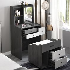Space Saving Furniture, Furniture For Small Spaces, Diy Furniture, Multifunctional Furniture Small Spaces, Makeup Storage Furniture, Office Furniture, Small Apartment Furniture, Backyard Furniture, Modern Bedroom Furniture