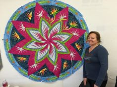 Canton Village Quilt Works | Paradise In Blooms Boot Camp