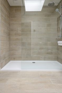 Our Nordic Oak Porcelain looks amazing on walls as well as floors