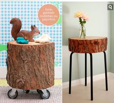 From log to table, two great ideas.