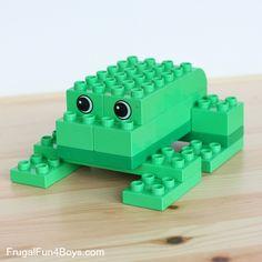 LEGO Duplo Animals to Build