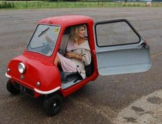 The Peel P50. Arguably the worlds smallest car