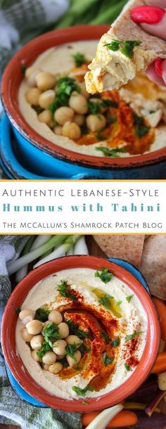 Lebanese Hummus Recipe comes off without a hitch when made, it has a super creamy texture and fabulous flavor. Appetizer Recipes, Dinner Recipes, Appetizers, Pasta Recipes, Crockpot Recipes, Soup Recipes, Breakfast Recipes, Chicken Recipes, Dessert Recipes