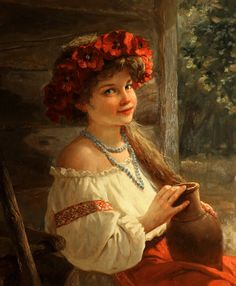 Вено́к (от ст.-слав. вѣно «дар») — плетёное в виде кольца украшение из свежей зелени,цветов