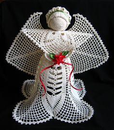 Crochet angel Edith » Little Black Lace