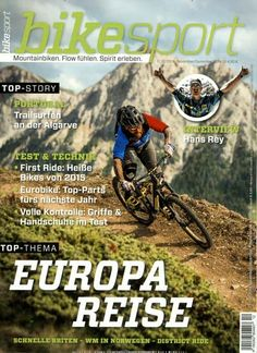 Europa Reise - Schnelle Briten - WM in Norwegen - District Ride. Gefunden in: bike sport, Nr. 12/2014