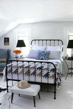 Light off-white shades are the best options for rooms with low ceilings.  RELATED: 100+ Bedroom Decorating Ideas
