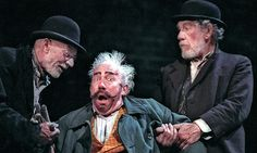 WAITING FOR GODOT, Theatre Royal Haymarket, London 2009. Ian McKellen (Estragon), Patrick Stewart (Vladimir) and Simon Callow (Pozzo)! A theatrical metaphor for the human condition. Accessible, fun and will remember forever the performances of Britain's finest actors in this clever adaptation (9/10)