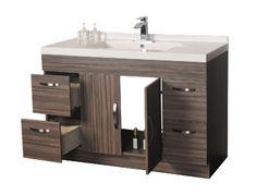 """Meuble-lavabo 48"""" x 21'' - Vanité 43-48 pouces - Meubles-lavabos vanités - Mobiliers de salle de bain - Salles de bain - Produits - Bain Dépôt"""