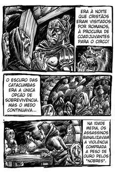 Quadrinhos Inquietos: ESCURO 3 de 6