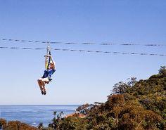 Catalina Island: Zip Lining