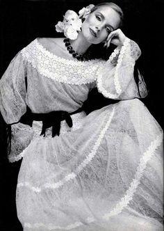 1977 - Yves Saint Laurent dress