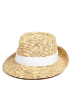 19acdaed469 Eric Javits Classic Squishee® Packable Fedora Sun Hat