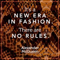 """""""It's a new era in fashion. There are no rules."""" -Alexander McQueen #Incoco shade: Copperhead Untamed #nails #fashion #beauty #quotes"""