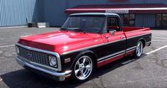 Sweet Custom Job on a 1971 Chevy C10 Truck