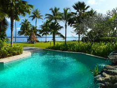 Swimming pool at Wakaya Club & Spa, Fiji