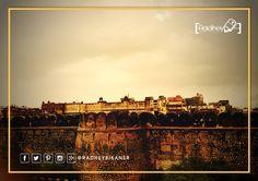Top View of Junagarh Fort  #bikaner #deshnok #india #travel #rajasthan #karnimatatemple #temple #jaisalmer #incredibleindia #rattentempel #traveling #streetphotography #travelindia #streetsofindia #igtravel #Karni #Mata #instagram #myclick #love #radheybikaner #sweet #followers #gallery_of_india #india_pictures #radhey #Junagarh #Fort