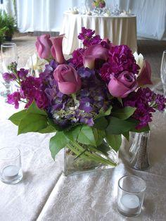 La Recepción nupcial de las flores, Centros de mesa, decoraciones, Carithers Florist Atlanta